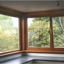 1-1-2 Fixed Corner Window inside