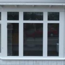 1-1-2 Fixed Window Baywindow weatherboard house
