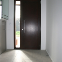 1-2-4 Front Entrance door inside 1-sidelight