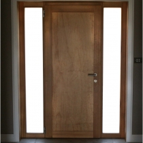 1-2-4 Front Entrance door inside 2 sidelights