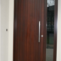 1-2-4 Front Entrance door ouside 1 sidelight