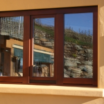 1-1-5 T&T window 2 sidelights  outside plaster