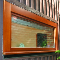 1-1-6 tilt window outside timber