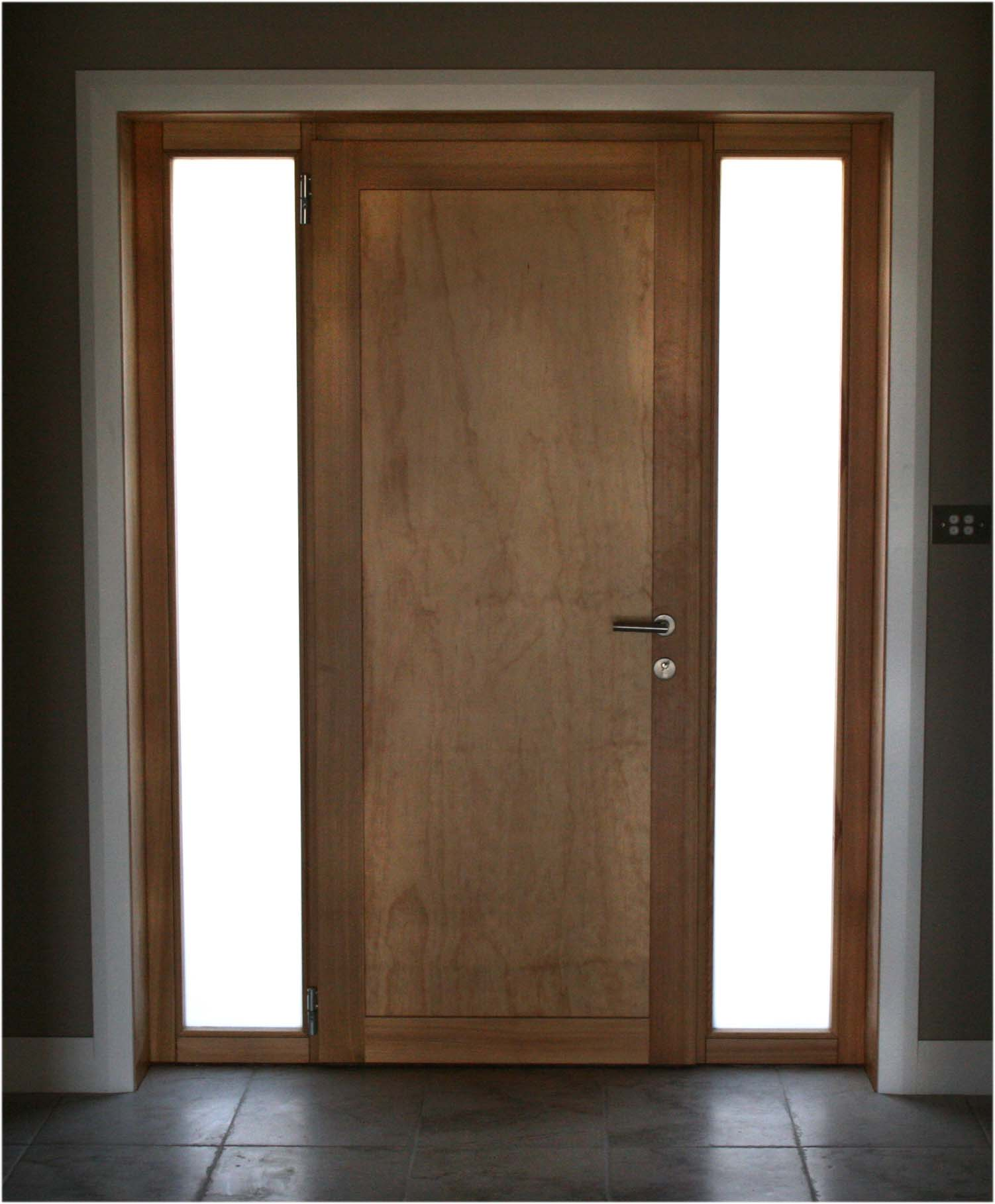 open front door from inside