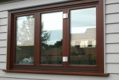 1-1-1 Bifold window outside