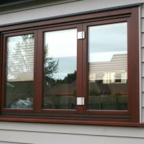 1-1-1 Bifold window outside