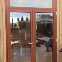 1-2-3 French Door outward opening with Fixed