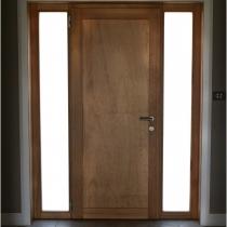 1-2-4 Front Entrance door inside 2 sidelights